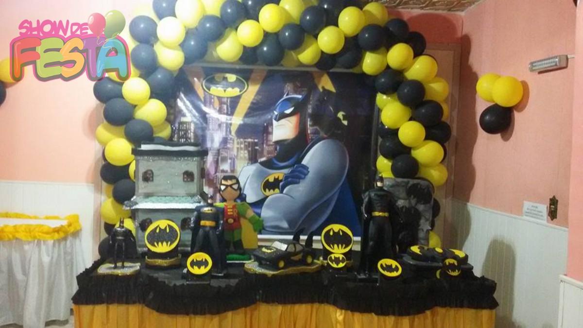 decoracao festa batman:Salão decoração tradicional – Batman – Locação Salão de Festa